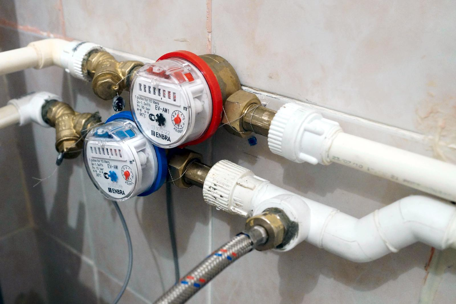 Установка счетчиков воды Кишинёв